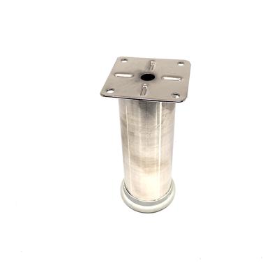 Çelebi Yuvarlak Ayak Metal Q42 12 Cm İnox