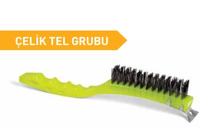 İzmir Tel Fırça Fırça Plastik Saplı Kazıyıcılı