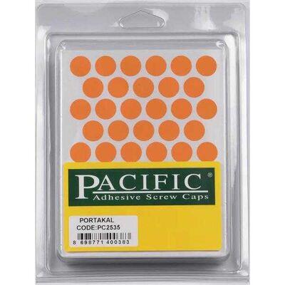 Pacific Yapışkanlı Vida Tapası 14Mm Portakal