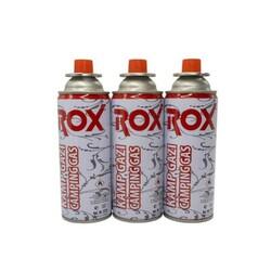 ROX - ROX Kamp Ocak Gazı Valfli Kartuş 227gr - 3 Adet