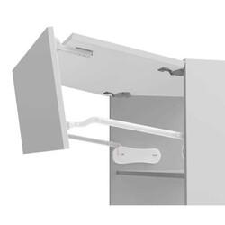 Samet - Samet MultioLift Katlanır Kapak Mekanizmaları Seti (90 cm - 80 cm Ahşap ve MDF Dolaplar için)