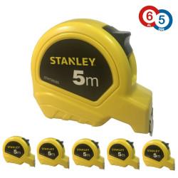 Stanley - Stanley STHT302858B 5M Çelik Şerit Beyaz Metre 5mx19mm (6 Al 5 Öde)