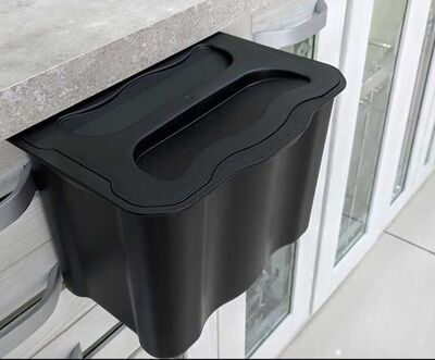 Starax 2577 Askılı Çöp Kovası Plastik Gövde 5Lt