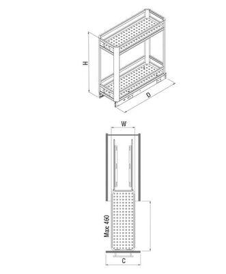 Starax 2802 Deterjanlık Alüminyum 20 Cm