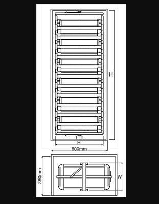 Starax 6835 Ayakkabılık Teleskopık Döner 80Cm 12 Sepet Beyaz