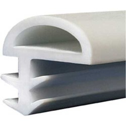 Sym - Sym Kapı Fitili 10Mm Yandan Tırnaklı Beyaz (1 Kutu 100Mt)